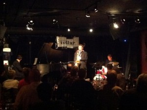 The Ben Lockwood Qrt at The Cellar Jazz Club, Vancouver.